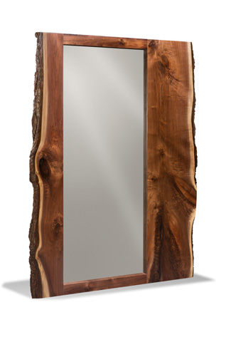 Harden Furniture - Live-Edge Floor Mirror - 1683-100
