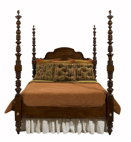 Harden Furniture - King Designer Custom Bed - 671-11-6/6