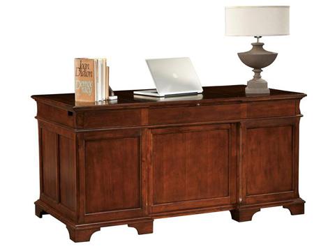 Hekman Furniture - Weathered Cherry Junior Executive Desk - 7-9280