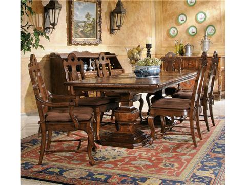 Hekman Furniture - Rue de Bac Pedestal Dining Table - 8-7222