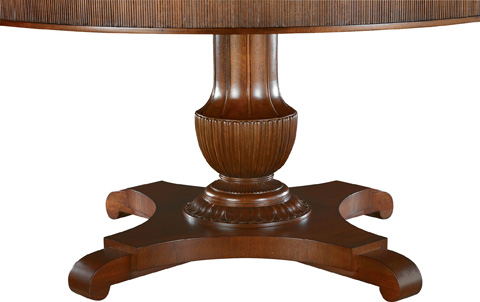 Hickory Chair - Gustav Round Dining Table - 5341-12/5342-10