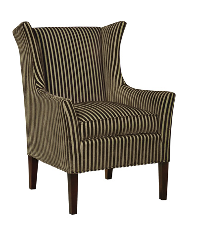 Hickory Chair - Jackson Skirted Wing Chair - 7636-21