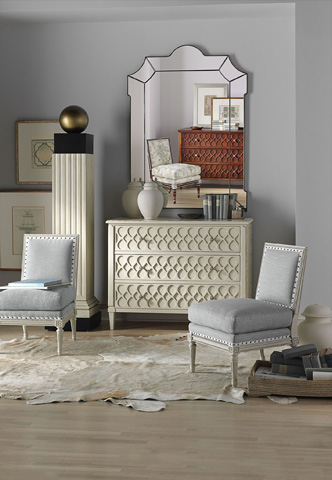 Hickory Chair - Murano Chest with Wood Top - 9771-10