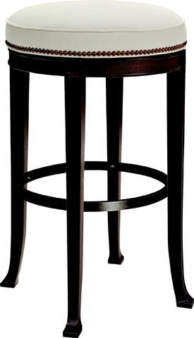 Hickory Chair - Newbury Swivel Backless Barstool - 138-04