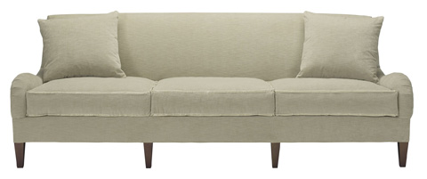 Hickory Chair - Emory Skirted Made To Measure Sofa - 1601-51-S