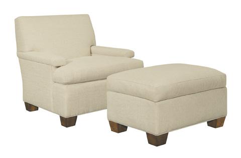 Hickory Chair - MacDonald Exposed Leg Chair - 5418-52-C