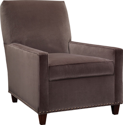 Hickory Chair - Silhouettes Lawson Lounge Chair - 4100