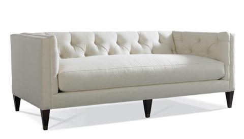 Hickory White - Tufted Back Sofa - 4422-05