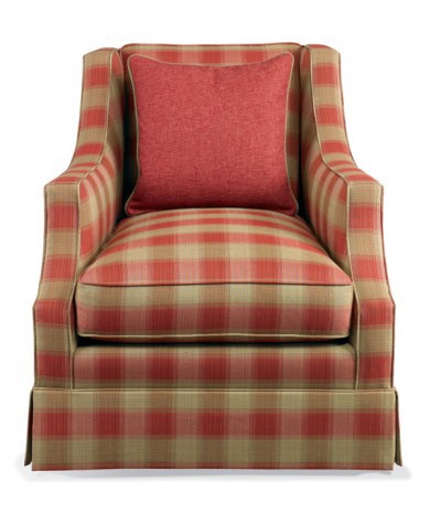 Hickory White - Fully Upholstered Chair - 2521-01X