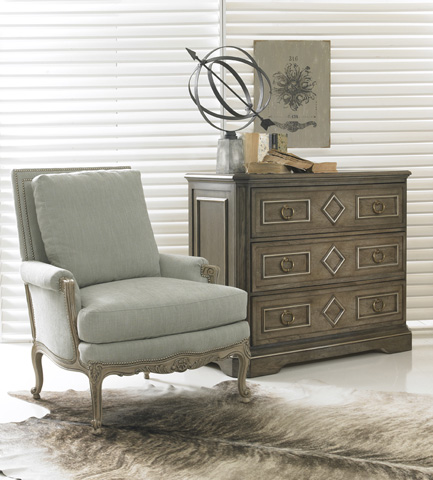 Hickory White - Exposed Wood Chair - 5209-01