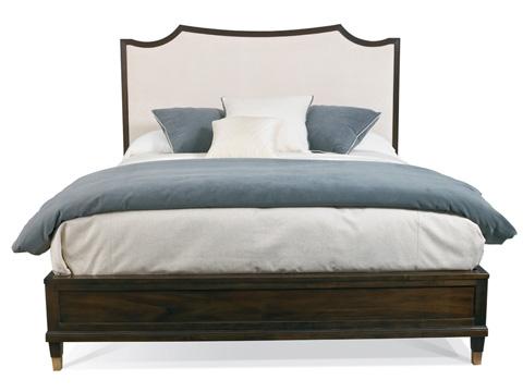 Hickory White - Ashleigh King Upholstered Bed - 445-25