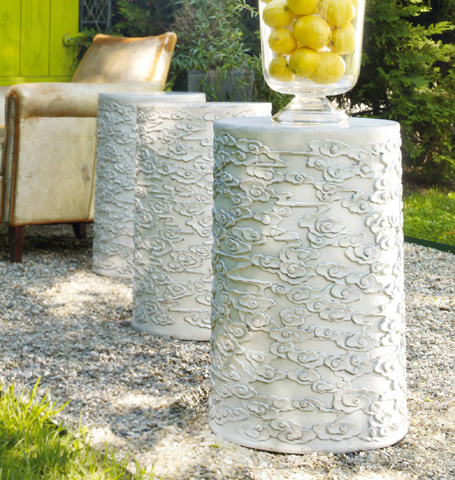 Hooker Furniture - Flowered Drum Table - 638-50011
