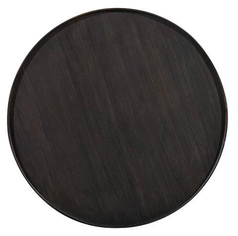 Hooker Furniture - Corsica Dark Round Bedside Table - 5280-90015