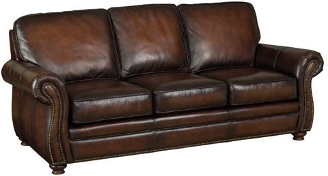 Hooker Furniture - Thompson Sofa in Sedona Chateau Leather - SS186-03-089
