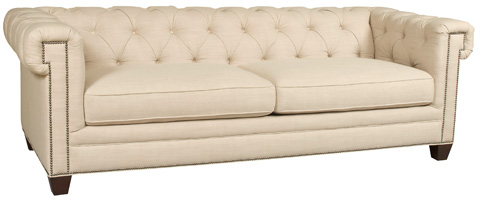 Hooker Furniture - Chester Sofa in Linosa Linen - SS195-03-010
