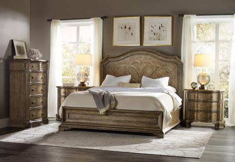 Hooker Furniture - Solana Queen Panel Bed - 5291-90350