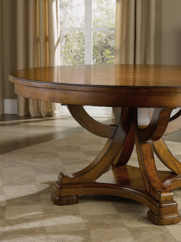 Hooker Furniture - Tynecastle Round Pedestal Dining Table - 5323-75206