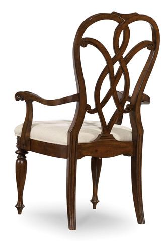 Hooker Furniture - Leesburg Splatback Arm Chair - 5381-75300