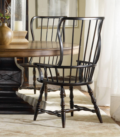 Hooker Furniture - Sanctuary Spindle Arm Chair - 3005-75300