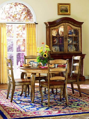 Hooker Furniture - Vineyard Ladderback Arm Chair - 478-75-300