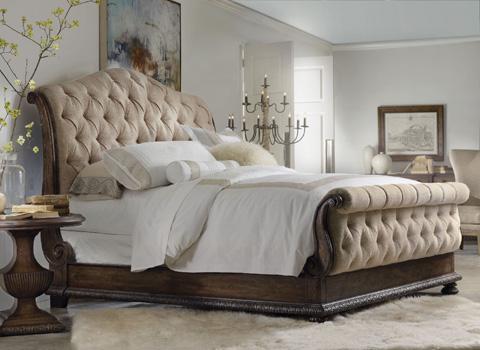 Hooker Furniture - Rhapsody King Tufted Bed - 5070-90566