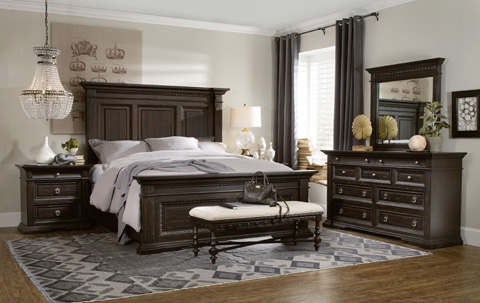 Hooker Furniture - Treviso King Panel Bed - 5374-90266