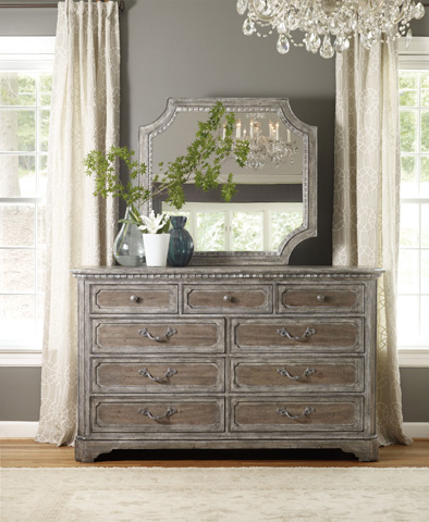 Hooker Furniture - True Vintage Shaped Mirror - 5701-90008