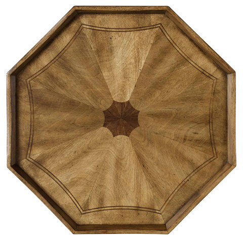 Hooker Furniture - Archivist Pie Crust Martini Table - 5447-50009A-TOFFEE