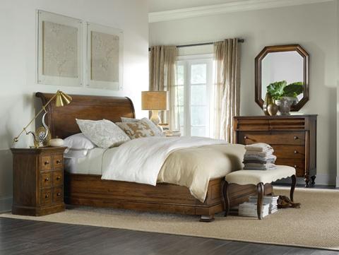 Hooker Furniture - Archivist King Bed - 5447-90466B
