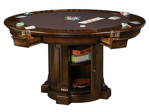 Howard Miller Clock Co. - Roxbury Game Table - 699-034