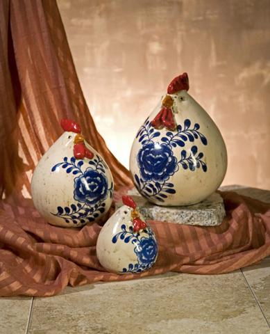IMAX Worldwide Home - Scandinavian Chickens - Set of 3 - 50220-3