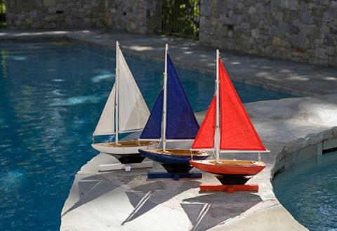 IMAX Worldwide Home - Forza Sailing Fleet - Set of 3 - 50907-3