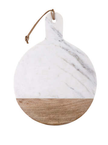 IMAX Worldwide Home - Peyton Marble and Wood Cheese Board - 82514