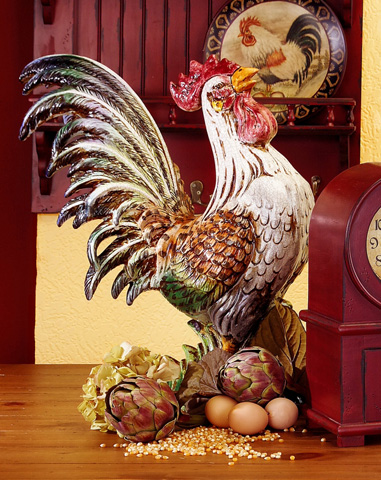IMAX Worldwide Home - Large Rooster - 9418