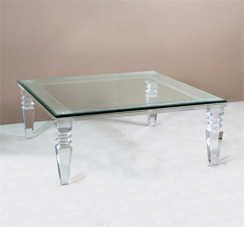 Interlude Home - Savannah Square Cocktail Table - 118025