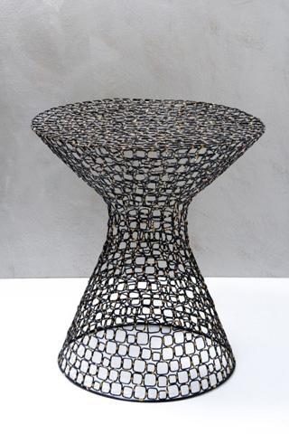 Interlude Home - Dendara Wire Table - 125046