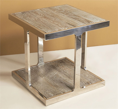 Interlude Home - Soto Square Side Table - 129096