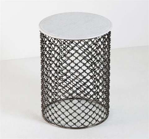Interlude Home - Padma Side Table - 165019