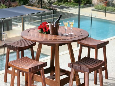 Jensen Leisure Furniture - Capri Hi Dining Table - 6424