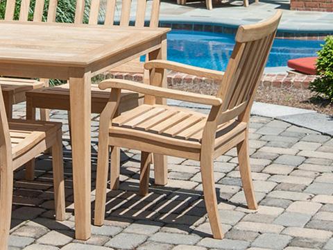 Jensen Leisure Furniture - English Dining Chair - 3200