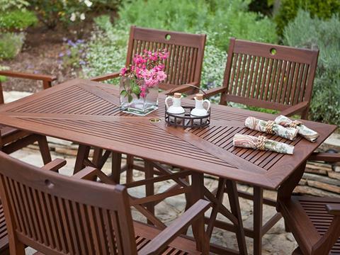 Jensen Leisure Furniture - Opal Counter Height Rectangular Table - 6439
