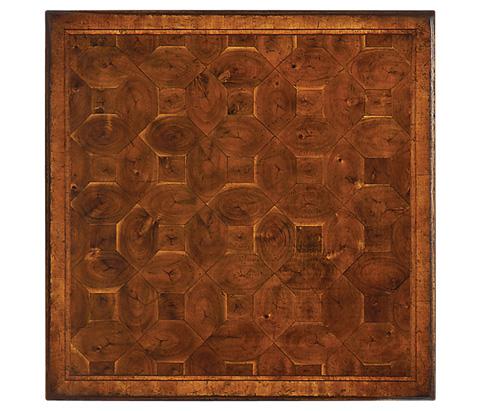 Jonathan Charles - Oyster Veneer Square Side Table - 492104