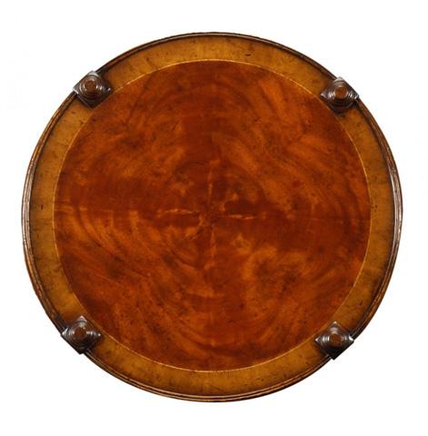 Jonathan Charles - Regency Style Mahogany Round Side Table - 492399