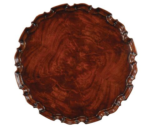 Jonathan Charles - Piecrust Lamp Table - 492517