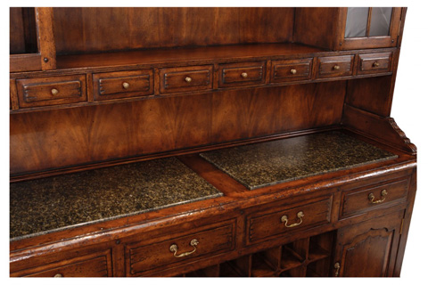 Jonathan Charles - Walnut Dresser For Drinks Storage - 493365