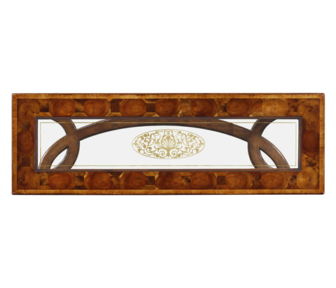Jonathan Charles - Oyster and Eglomise Console - 493498