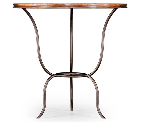 Jonathan Charles - Walnut Bistro Table - 494078
