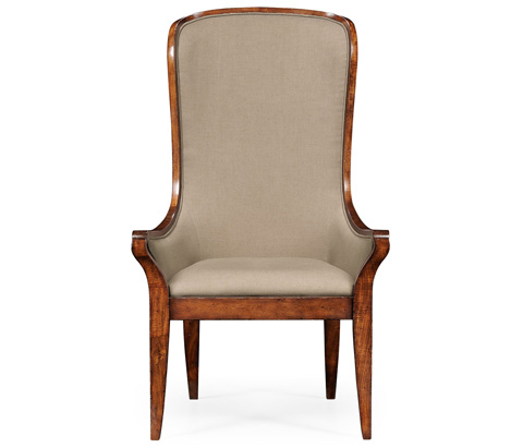 Jonathan Charles - Porter's Chair Walnut - 494121