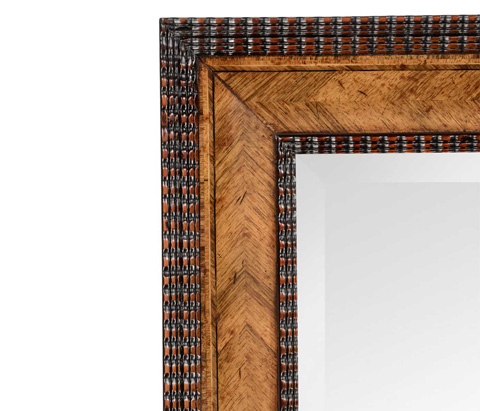 Jonathan Charles - Gadrooned Mirror - 494364