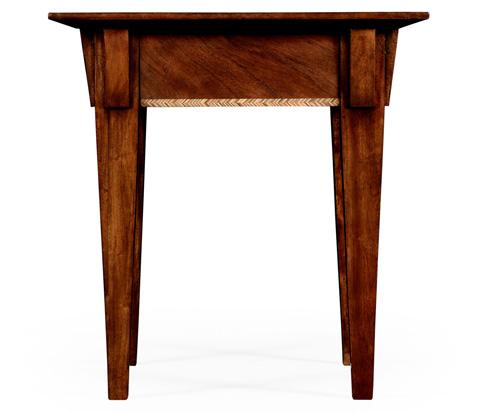 Jonathan Charles - Craftsman's Mahogany Side Table - 494792
